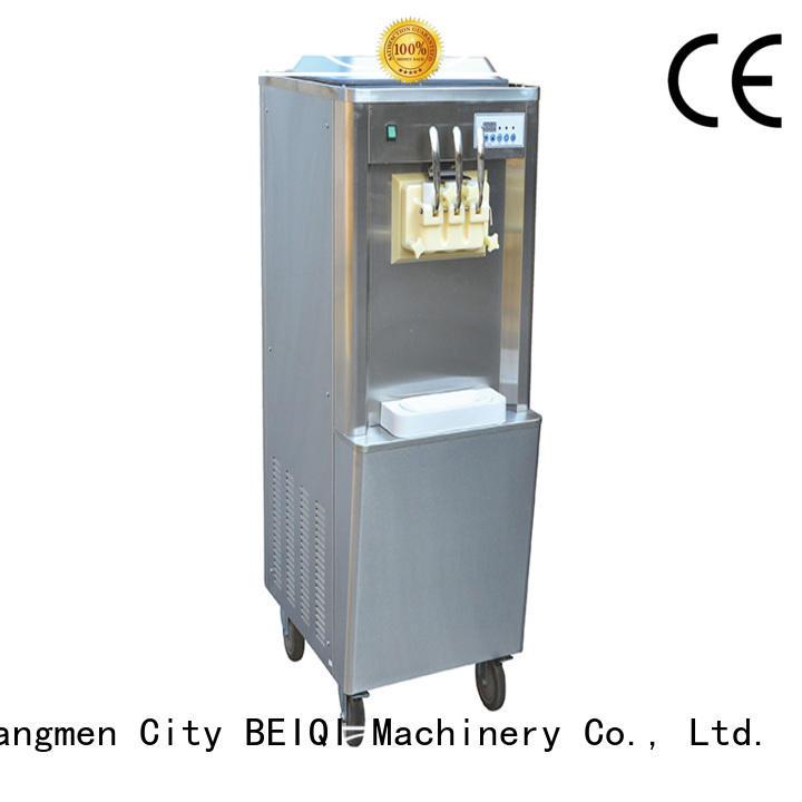 BEIQI solid mesh commercial soft ice cream maker ODM For Restaurant