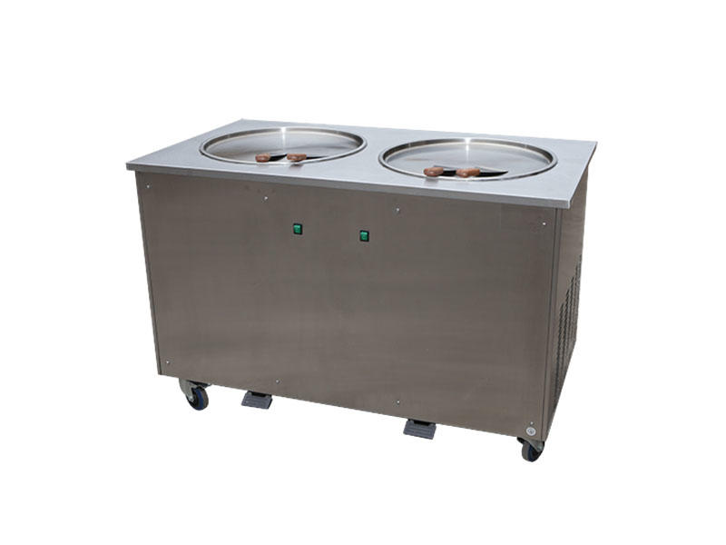 BEIQI funky Soft Ice Cream Machine for sale get quote Snack food factory-2