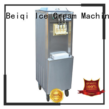 BEIQI silver commercial ice cream machine bulk production Snack food factory