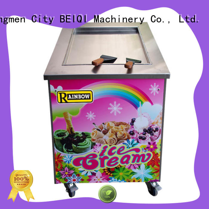 BEIQI high-quality Soft Ice Cream Machine for sale free sample Frozen food Factory