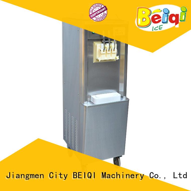BEIQI silver ice cream machine price free sample Frozen food factory