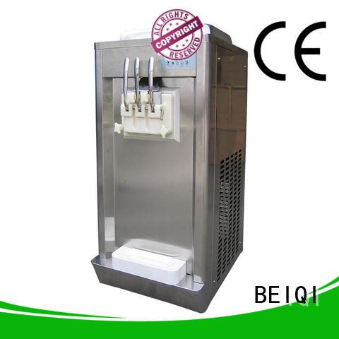 BEIQI durable soft Ice Cream Machine free sample Snack food factory