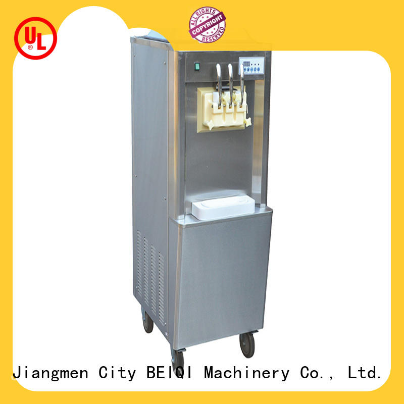 BEIQI funky Soft Ice Cream Machine for sale bulk production Snack food factory
