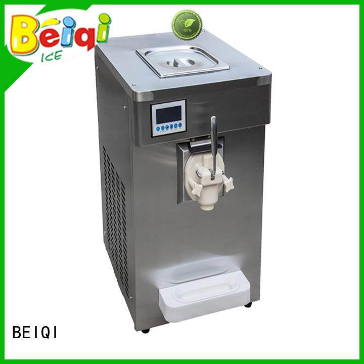 Soft Ice Cream Machine silver For Restaurant BEIQI