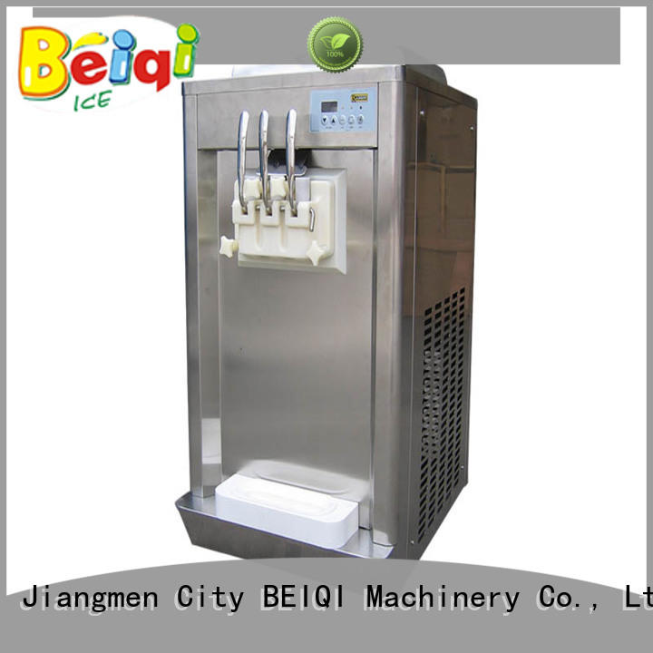 BEIQI funky Soft Ice Cream Machine for sale ODM Frozen food Factory