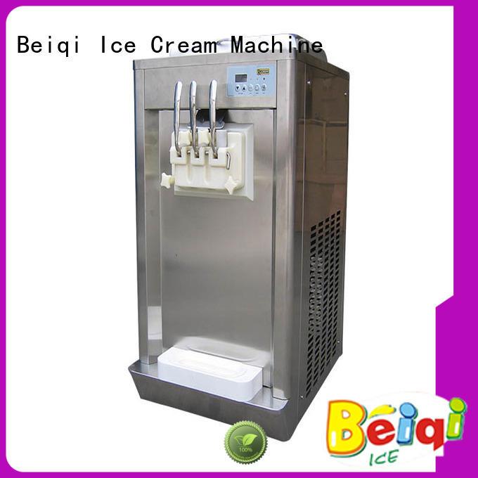 BEIQI Soft Ice Cream Machine for sale OEM Frozen food Factory