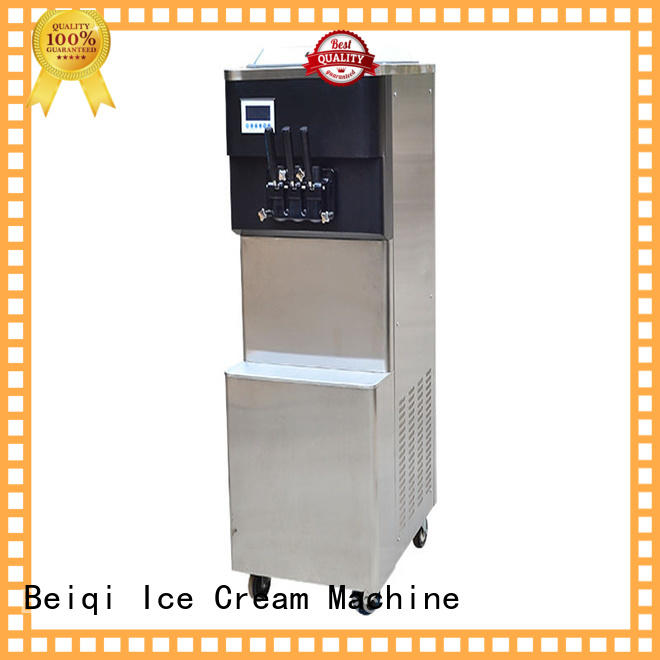 BEIQI silver commercial ice cream machine supplier Snack food factory