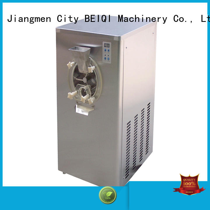 BEIQI excellent technology Hard Ice Cream Machine free sample Snack food factory