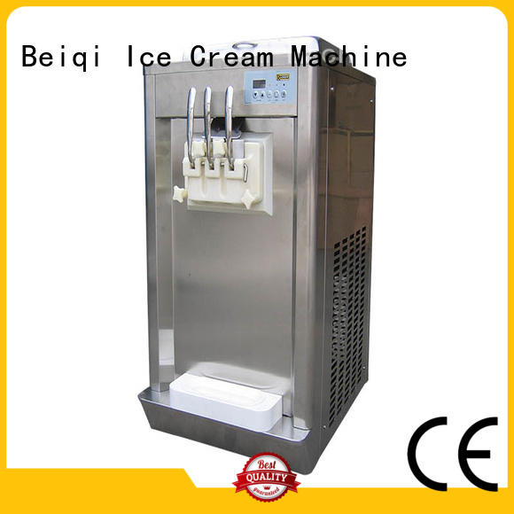 portable Soft Ice Cream Machine for sale free sample Snack food factory