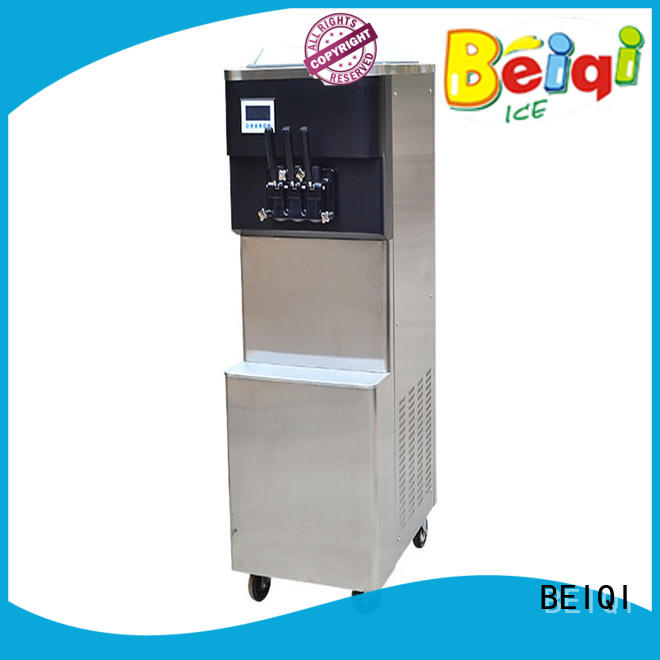 funky Soft Ice Cream Machine for sale free sample Snack food factory
