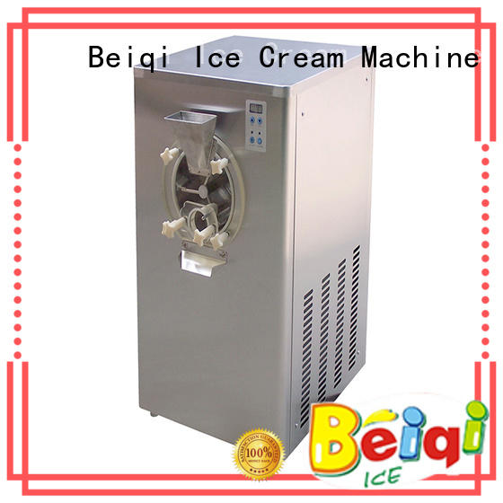 solid mesh Soft Ice Cream Machine for sale ODM Snack food factory
