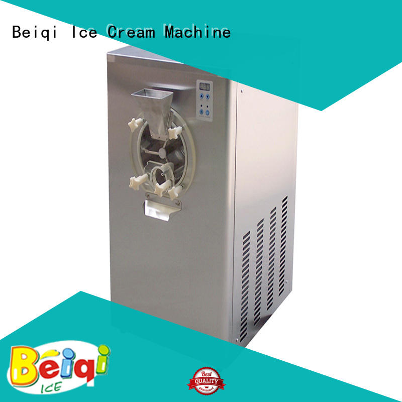 Breathable hard ice cream maker excellent technology customization For dinning hall