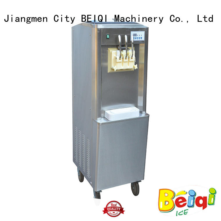 funky Soft Ice Cream Machine for salebulk production Snack food factory
