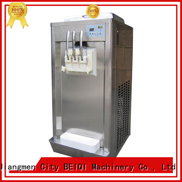 BEIQI silver professional ice cream machine for wholesale Snack food factory