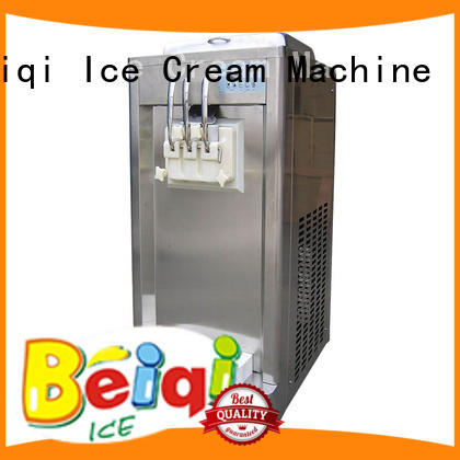 BEIQI Soft Ice Cream Machine for sale supplier Frozen food Factory