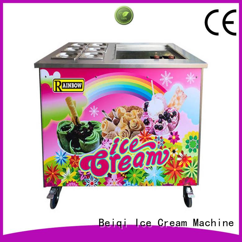 funky Fried Ice Cream Maker Double Pan free sample For Restaurant