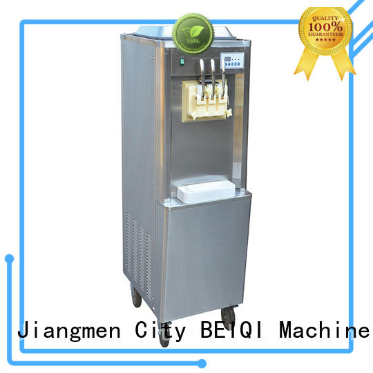 BEIQI solid mesh Soft Ice Cream Machine for sale bulk production For Restaurant