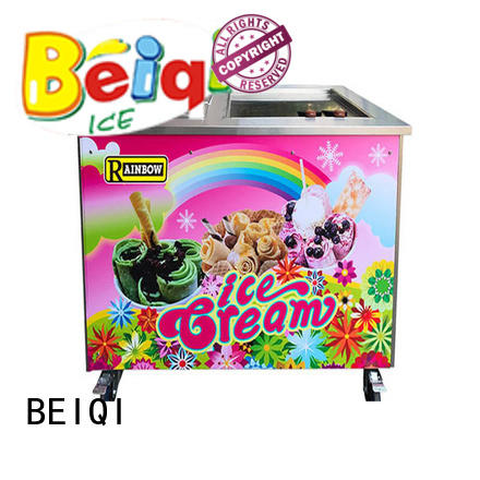 BEIQI Breathable Fried Ice Cream Machine free sample Snack food factory