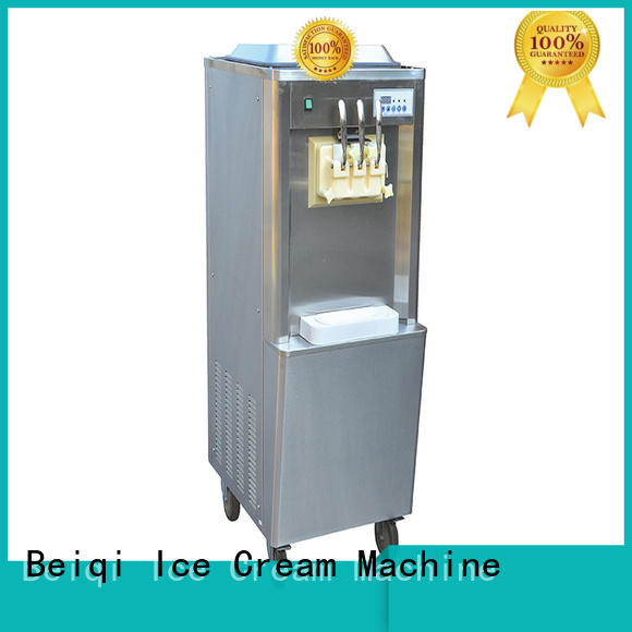 BEIQI Soft Ice Cream Machine for sale customization Snack food factory
