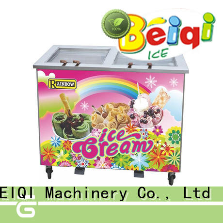 Breathable Soft Ice Cream Machine bulk production Snack food factory