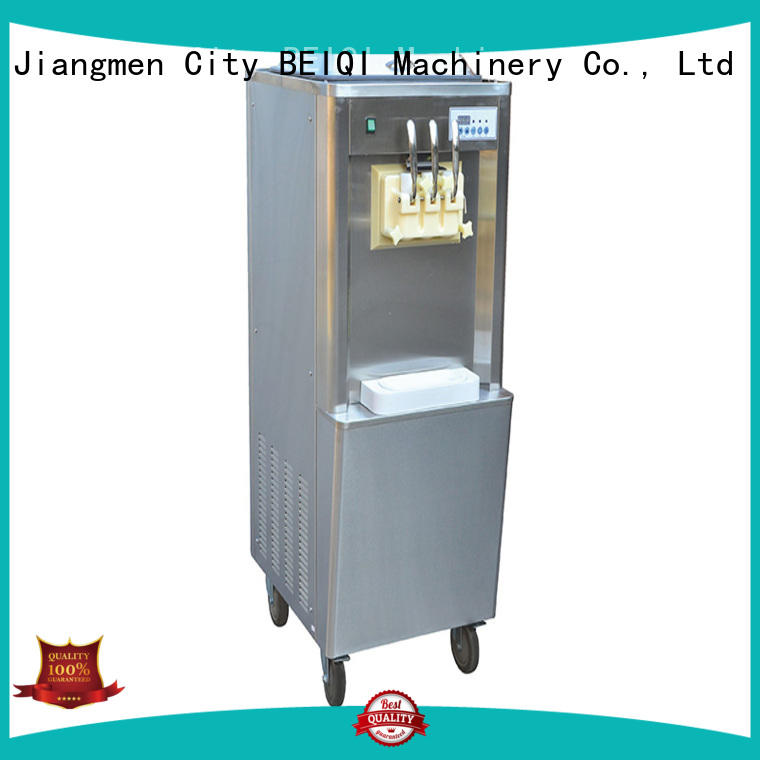 BEIQI portable Soft Ice Cream Machine for sale Snack food factory