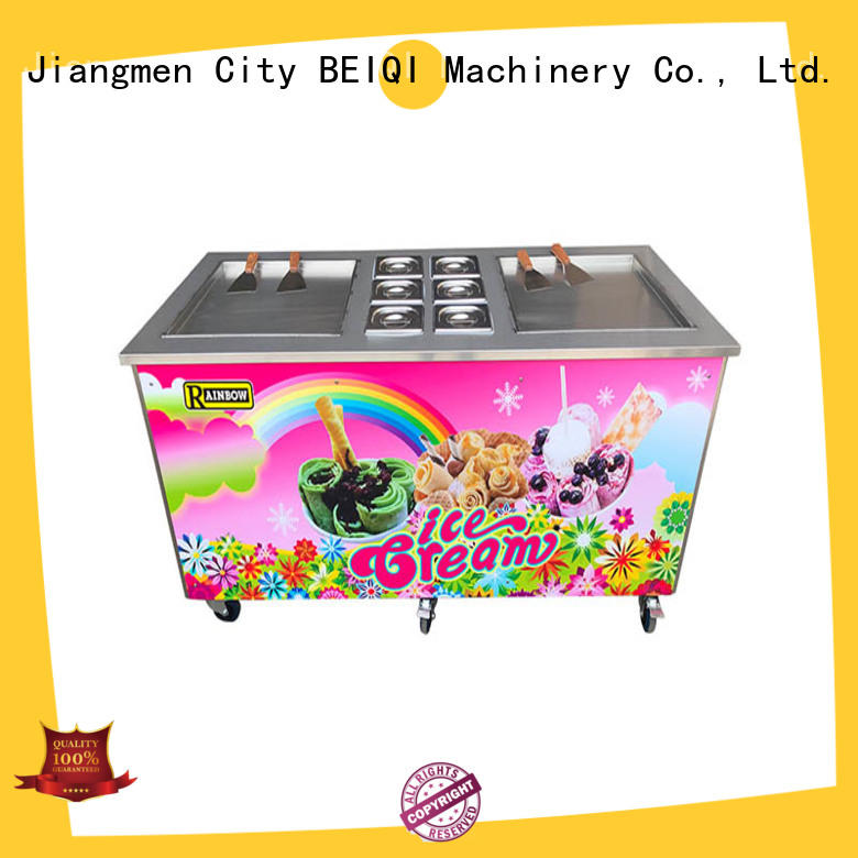 BEIQI portable Soft Ice Cream Machine for sale bulk production Snack food factory