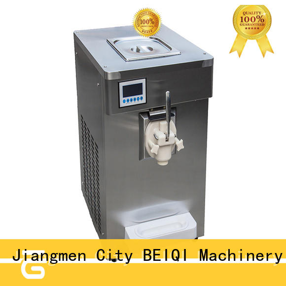 BEIQI different flavors soft serve ice cream machine buy now For dinning hall