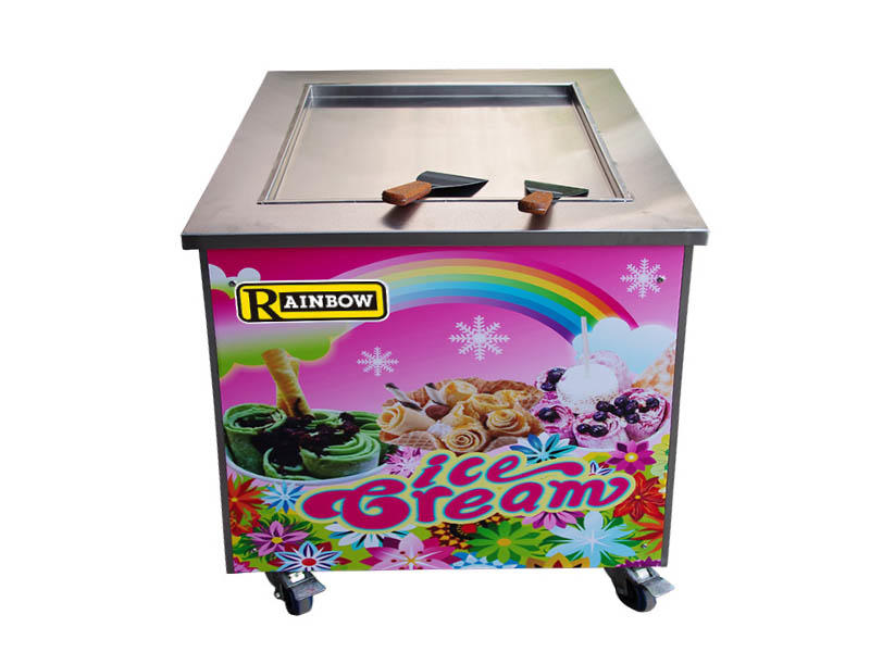 at discount Fried Ice Cream making Machine different flavors free sample For commercial-1