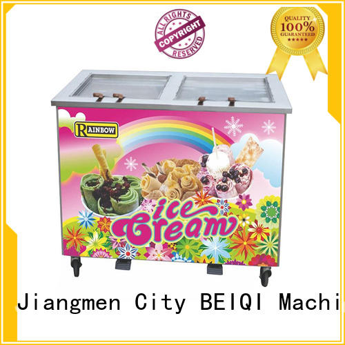 portable fried Ice Cream Machine for wholesale Frozen food Factory BEIQI