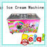 BEIQI silver Fried Ice Cream Machine get quote For dinning hall