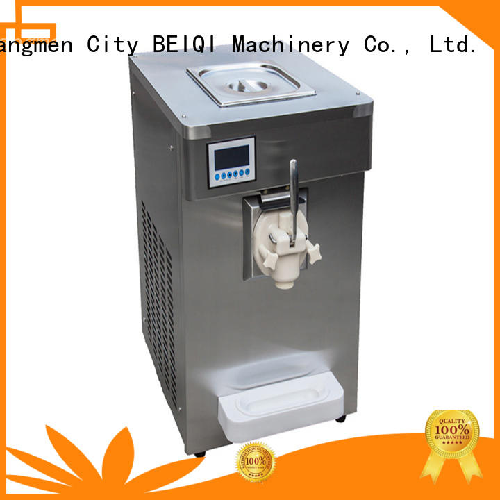 BEIQI commercial use Soft Ice Cream maker for wholesale For dinning hall