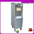 BEIQI Breathable Manufacturer supply Commercial Soft Ice Cream Machine silver For dinning hall