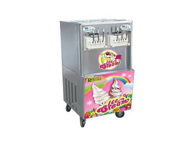 solid mesh soft ice cream maker machine commercial use customization Frozen food factory-1