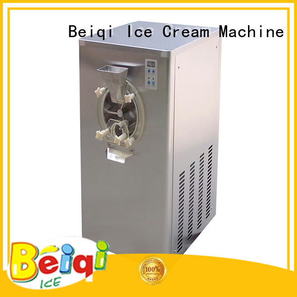 BEIQI portable Hard Ice Cream Machine free sample For dinning hall