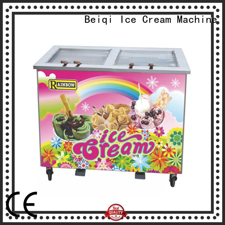 BEIQI different flavors Fried Ice Cream Maker ODM For commercial