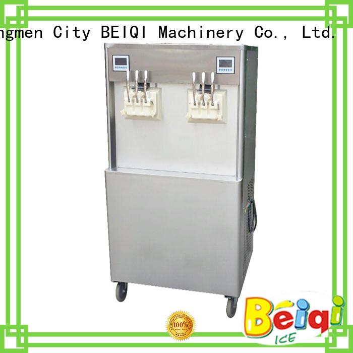 BEIQI durable soft serve ice cream machine bulk production Snack food factory