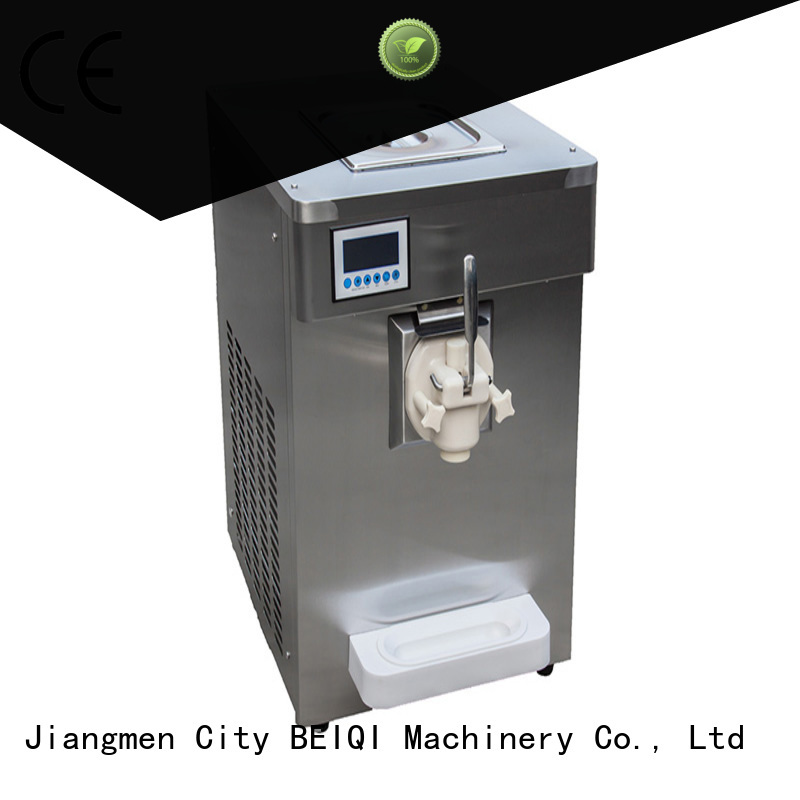 BEIQI commercial soft Ice Cream Machine bulk production Snack food factory