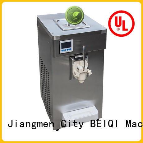 BEIQI different flavors soft ice cream maker for sale for wholesale For dinning hall
