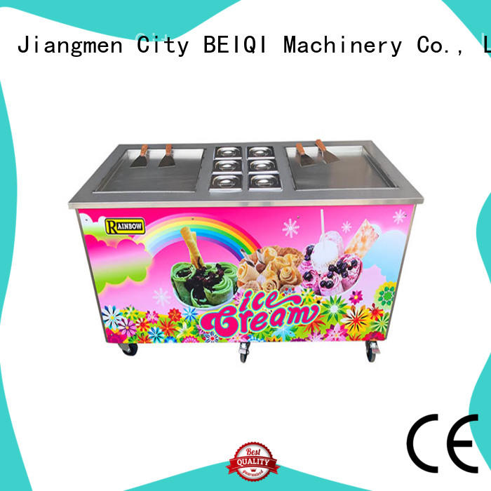 Breathable Soft Ice Cream Machine for sale buy now Snack food factory