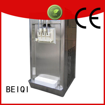 BEIQI at discount Soft Ice Cream Machine for sale free sample Snack food factory