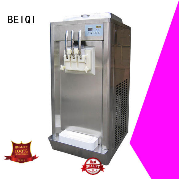 funky Soft Ice Cream Machine for sale customization Snack food factory