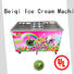 BEIQI at discount Soft Ice Cream Machine for sale for wholesale Snack food factory