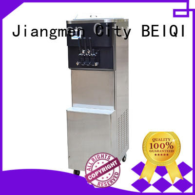 portable soft ice cream maker machine commercial use OEM Snack food factory