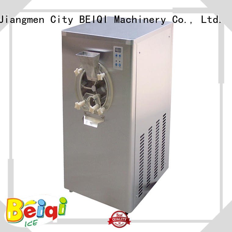 BEIQI Breathable Hard Ice Cream Machine OEM For commercial