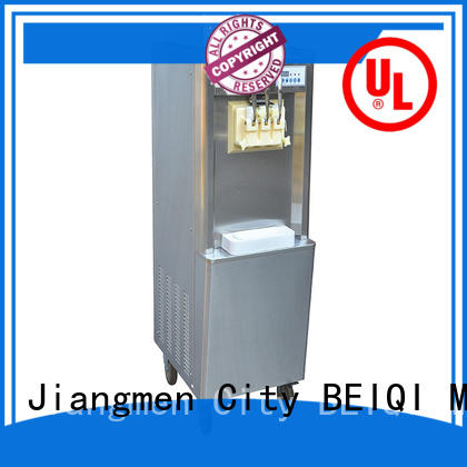 Soft Ice Cream Machine for sale free sample Snack food factory BEIQI