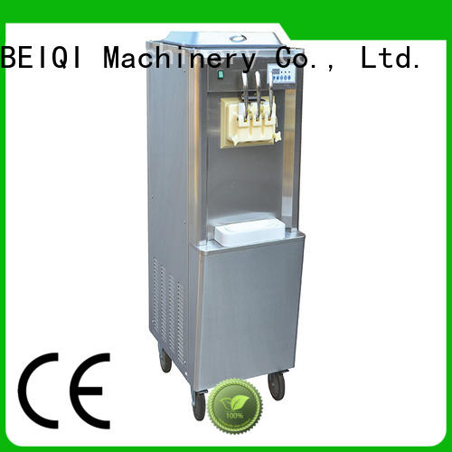 latest Soft Ice Cream Machine for sale free sample Snack food factory