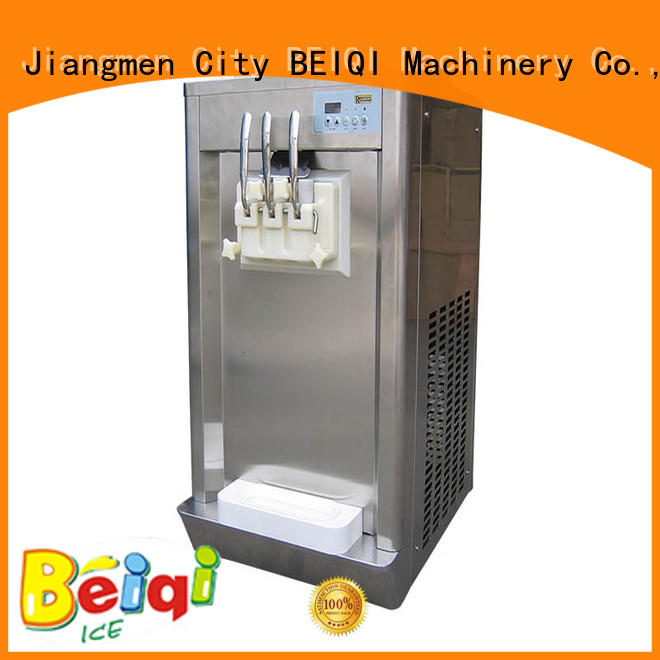 funky soft serve ice cream machine silver customization Frozen food factory