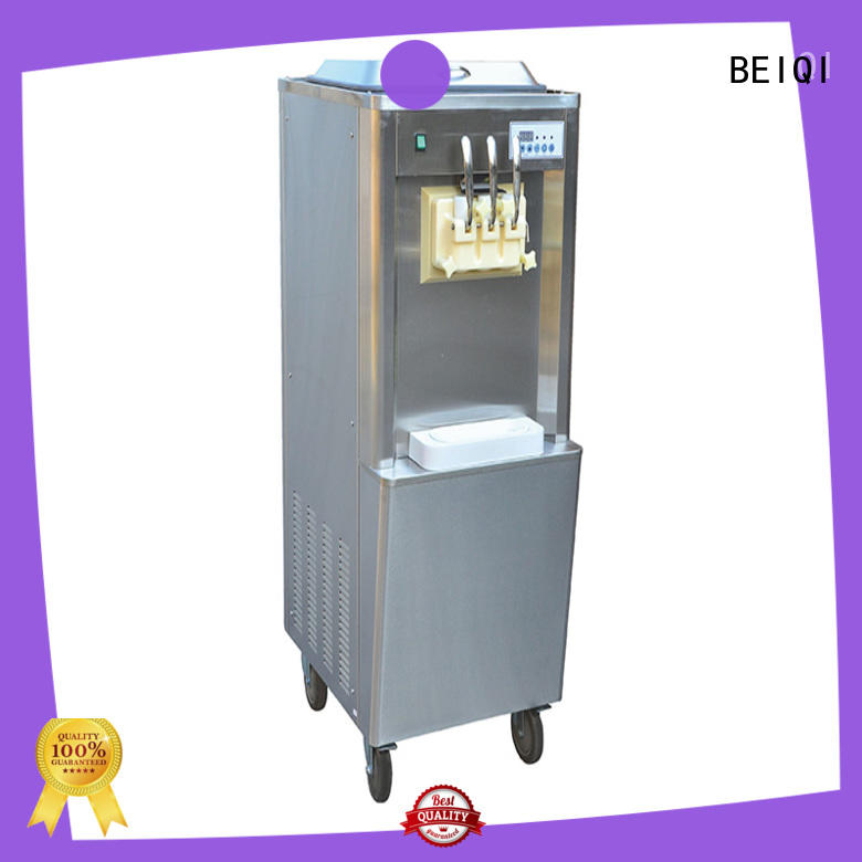 latest Soft Ice Cream Machine for sale free sample Frozen food Factory