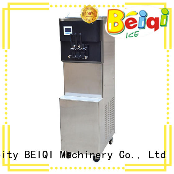 BEIQI solid mesh Soft Ice Cream Machine for sale OEM Frozen food Factory