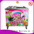 BEIQI Double Pan Fried Ice Cream making Machine OEM Snack food factory